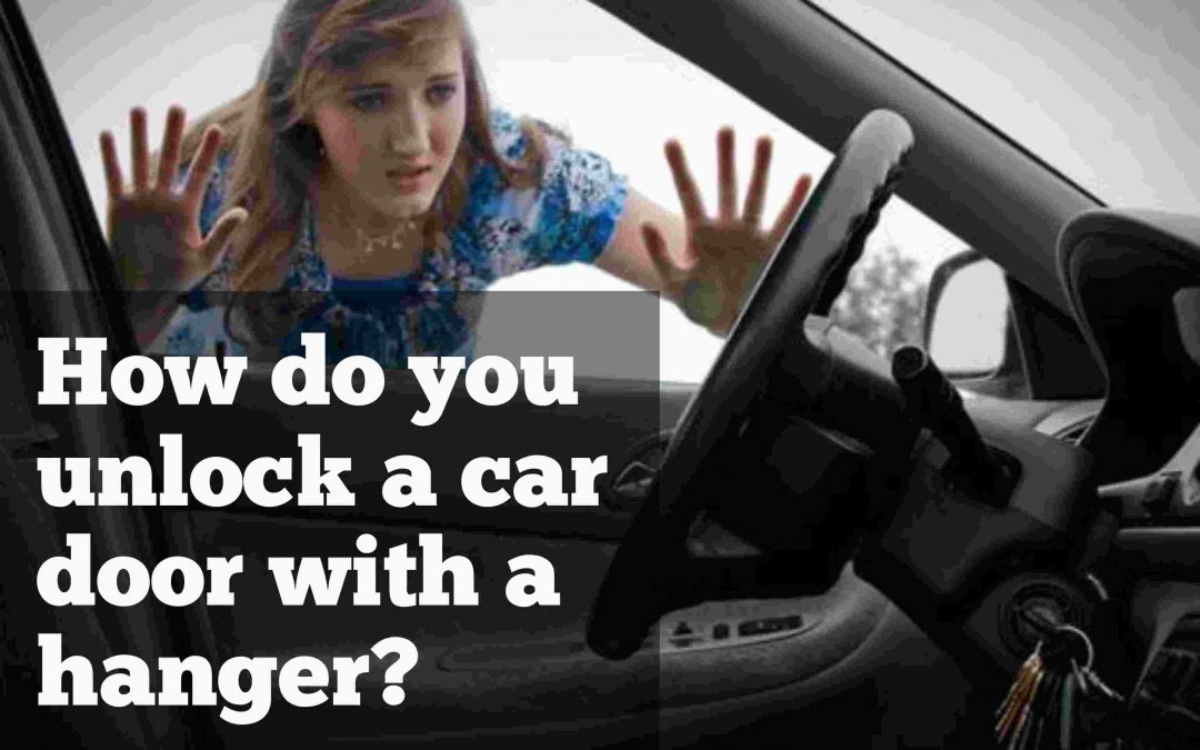 Woman locked out of car