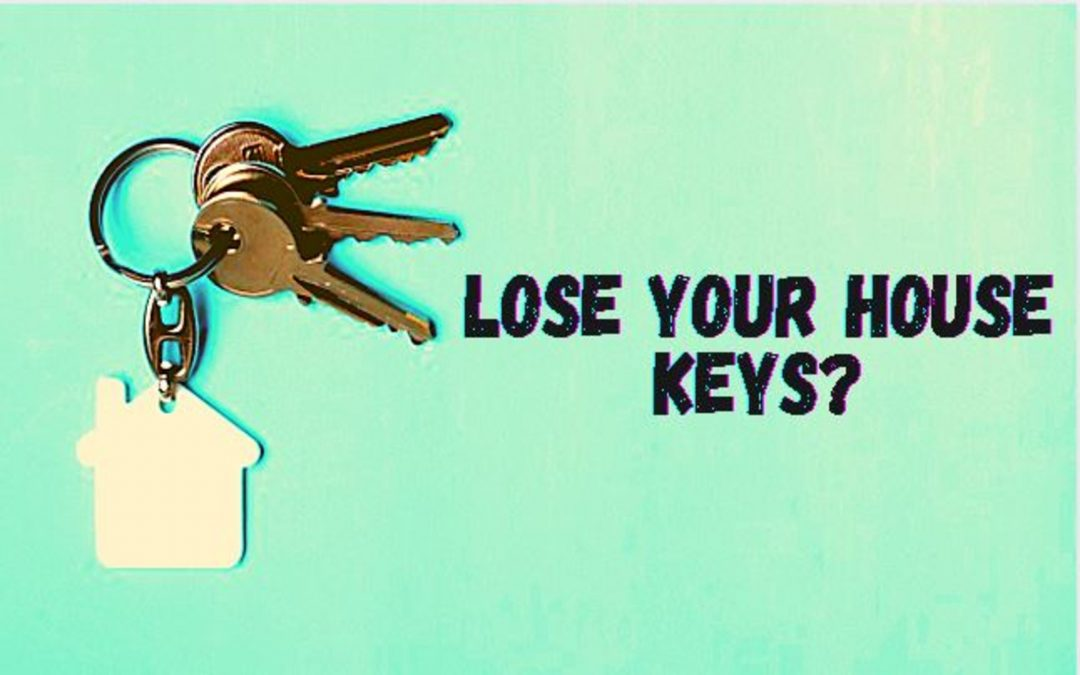 Lose Your House Keys (Doors and Window Keys)