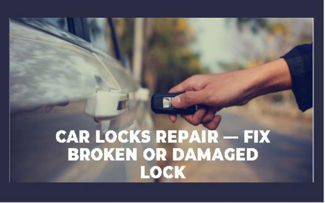 Car Key Repairs — Broken Car Key Fob or Remote